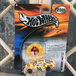 Hotwheels racing m&m's car